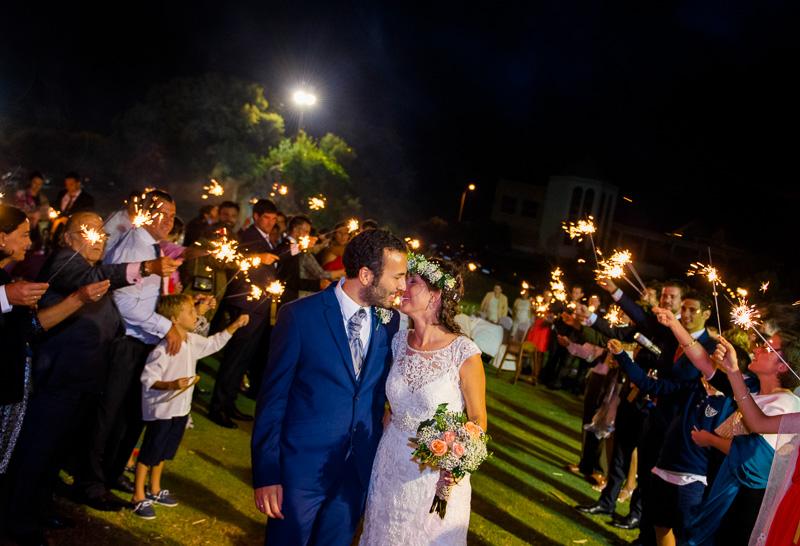 boda con fotos diferentes