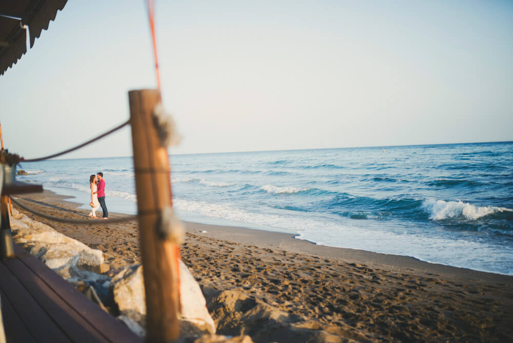 reportaje boda playa