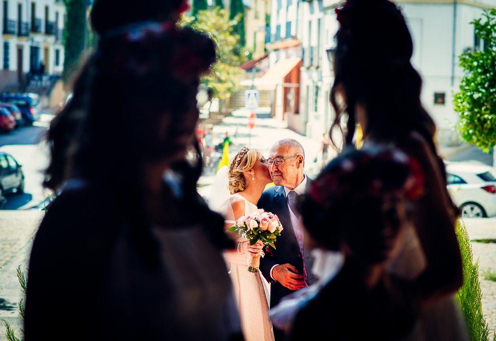 llegada de la novia a la iglesia, Protocolo para actuar en la Iglesia