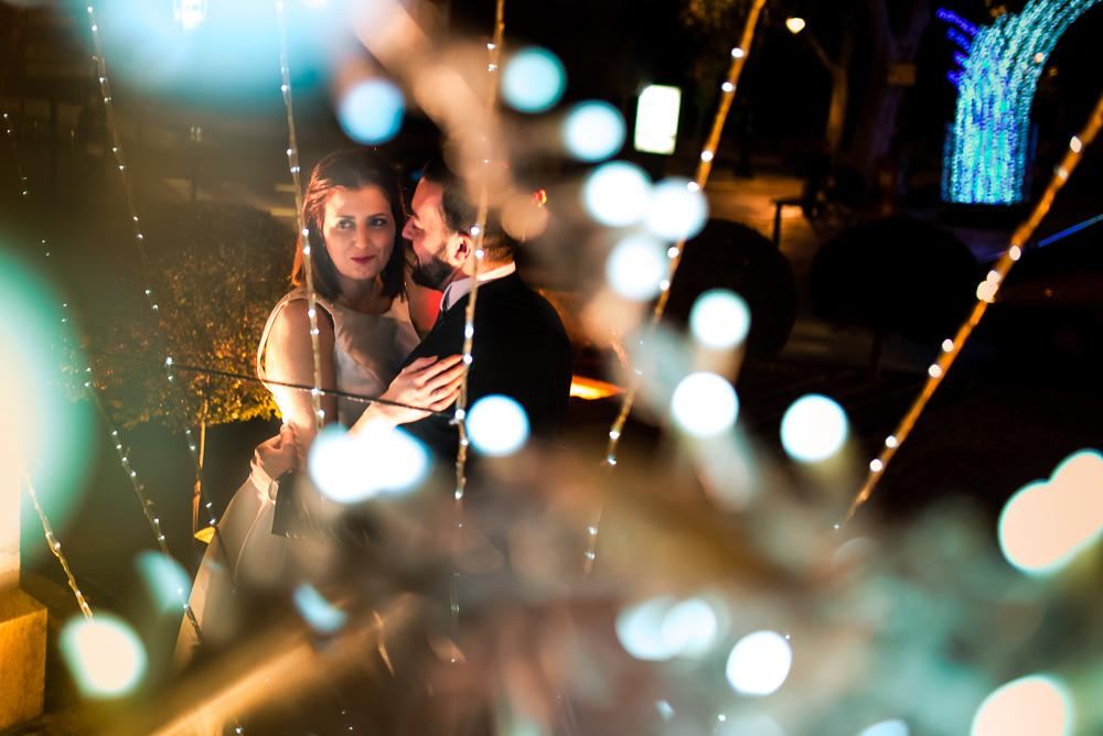 Post boda navideña, luces de navidad