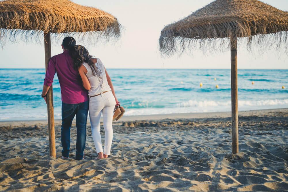 fotos unicas en marbella playa boda